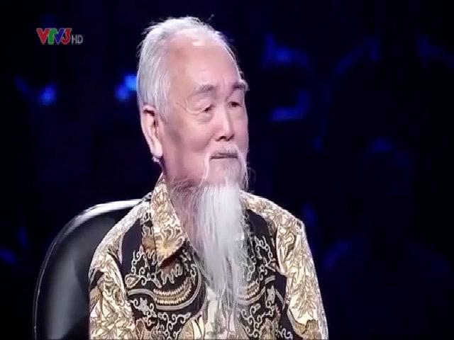 Cụ ông 78 tuổi khiến MC Lại Văn Sâm thán phục vì quá hài hước