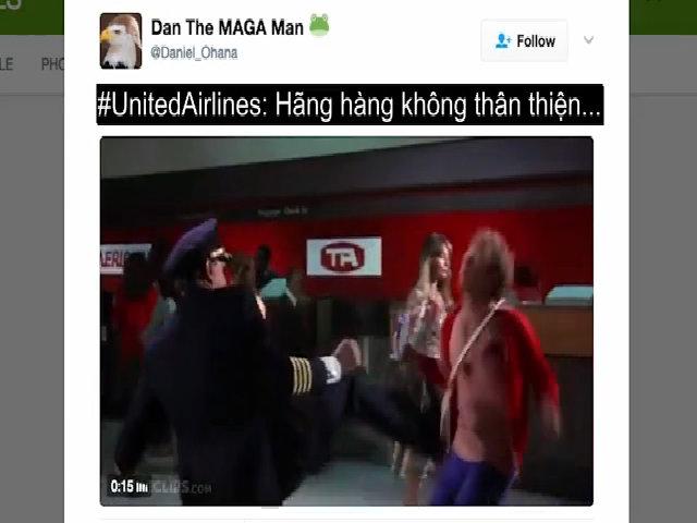 Mạng xã hội chế ảnh phản đối United Airlines
