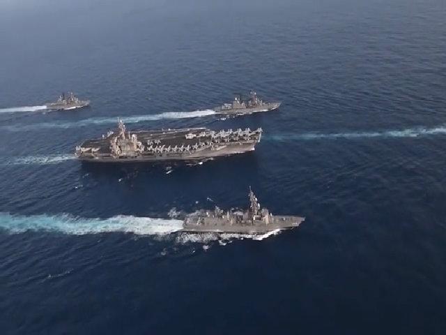 Tàu chiến Nhật có thể phô diễn sức mạnh gần Triều Tiên