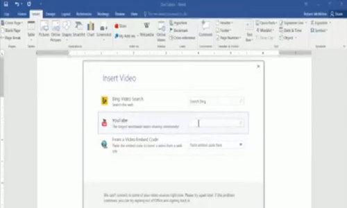 Mẹo đơn giản để dùng Microsoft Word hiệu quả - Video Embed