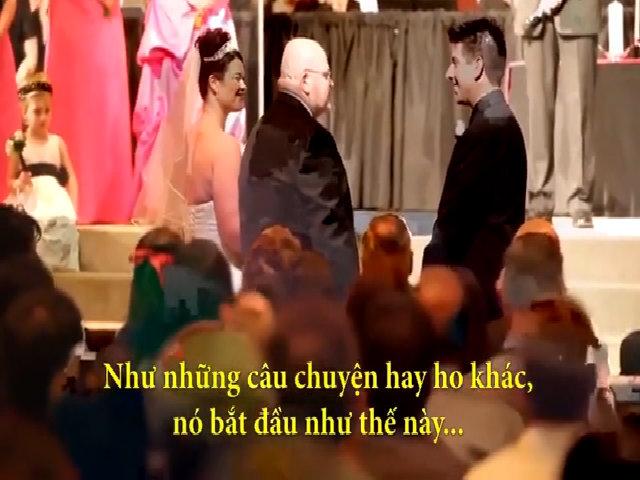 Chàng rể bật khóc khi nghe nhạc phụ 'dằn mặt' trong ngày cưới