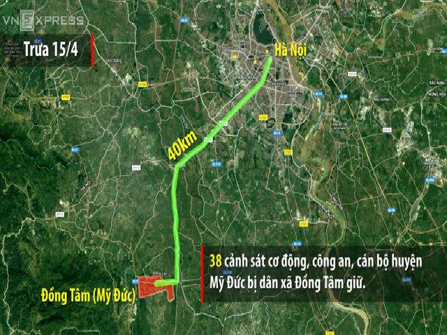 7 ngày giữ người ở xã Đồng Tâm