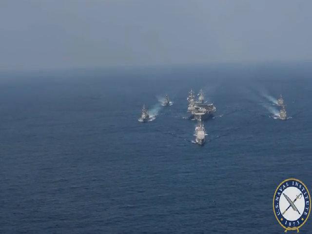 Hành trình châm ngòi khủng hoảng Triều Tiên của tàu sân bay Mỹ