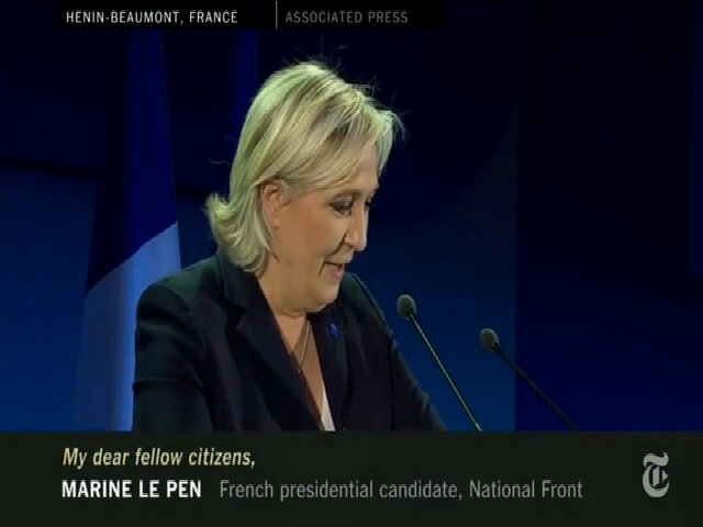 Phong cách đối lập của hai ứng viên tổng thống Pháp