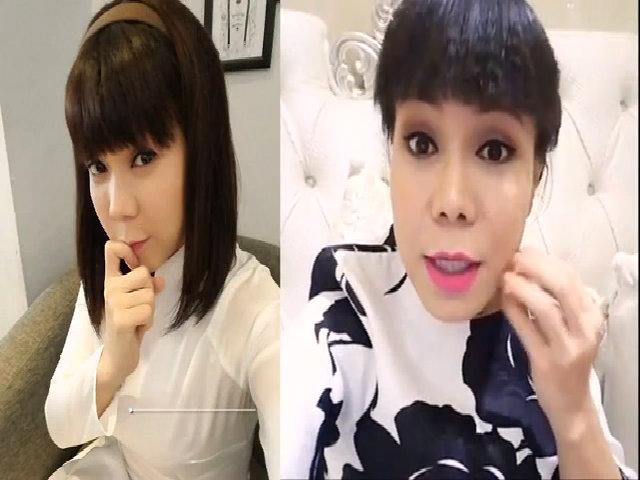 Việt Hương trẻ đẹp hơn 10 năm trước cùng BB Thanh Mai