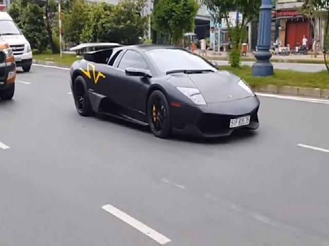 Minh Nhựa tậu Lamborghini Murcielago LP670-4 SV 1,2 triệu USD