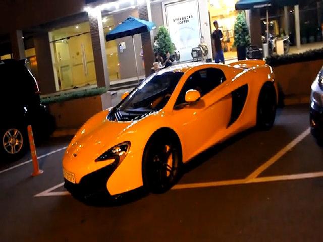 Minh nhựa tậu McLaren 650S Spider