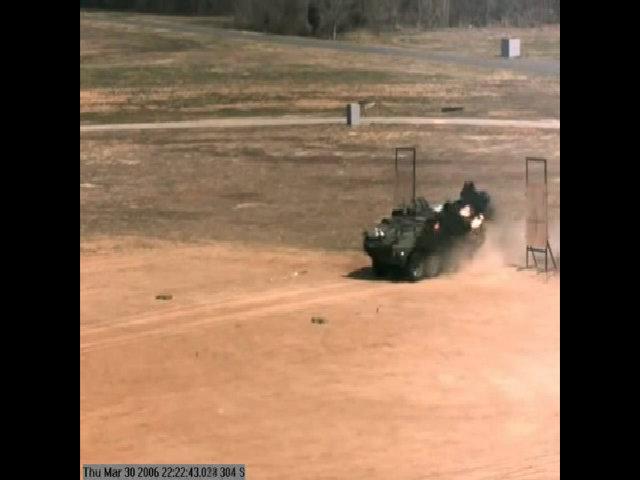 Hệ thống Trophy thử nghiệm đánh chặn đạn chống tăng