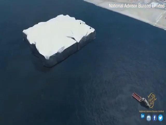UAE tính kéo băng Nam Cực xa 9.000 km về làm nước uống