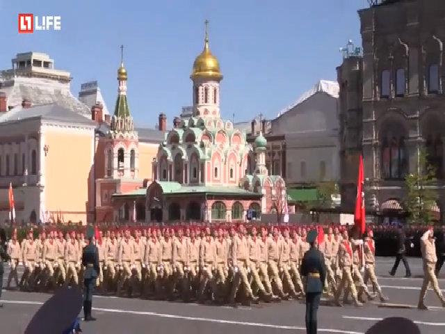 Nga ra mắt đội thanh niên yêu nước tại duyệt binh Ngày Chiến thắng