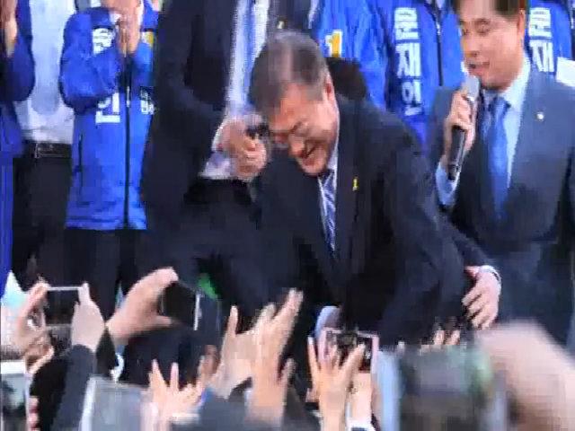 Moon Jae-in đắc cử tổng thống Hàn Quốc