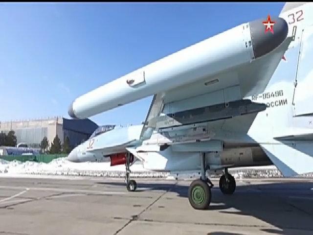 Tổ hợp Khibiny trên tiêm kích Su-35S