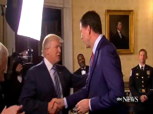 Trump chào đón giám đốc FBI James Comey