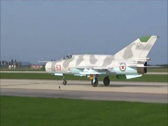 Lực lượng tiêm kích MiG-21 của Triều Tiên