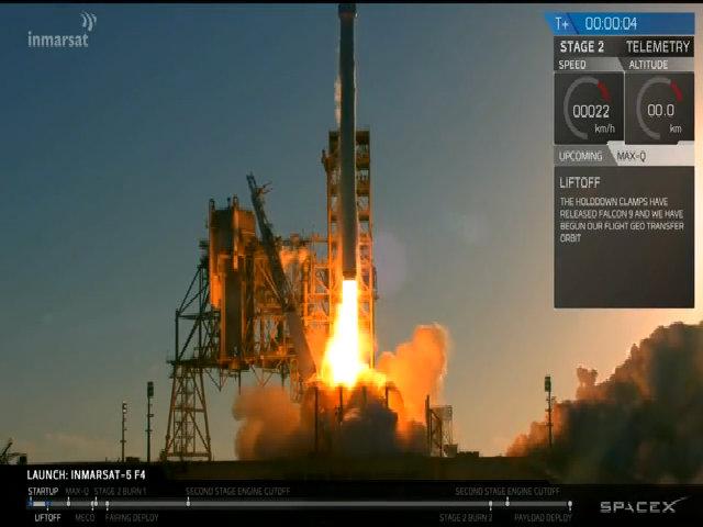 Tên lửa SpaceX chở vệ tinh nặng nhất từ trước tới nay