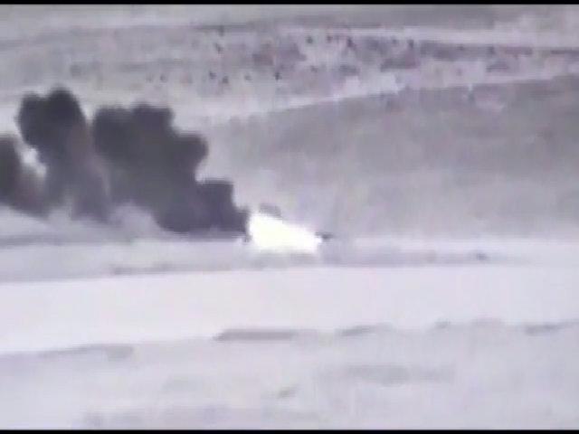 Tổ hợp phòng không Armenia trúng tên lửa, phát nổ dữ dội