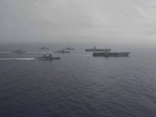 Mỹ điều tàu sân bay thứ hai áp sát Triều Tiên