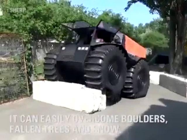 Sherp ATV - xe Nga bất chấp mọi địa hình