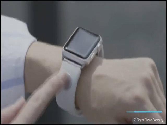 Thiết bị lập tức biến ngón tay thành điện thoại