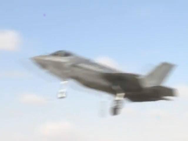 Tiêm kích F-35I của không quân Israel