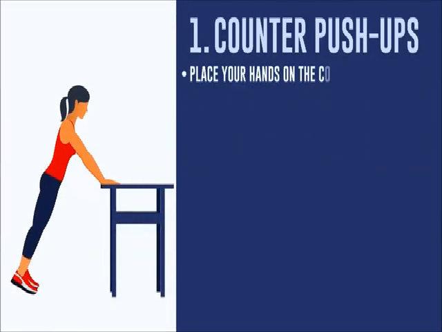 5 bài tập giúp bắp tay thon gọn tự tin diện áo cộc tay