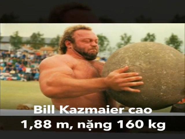 10 người đàn ông khỏe nhất thế giới (2)