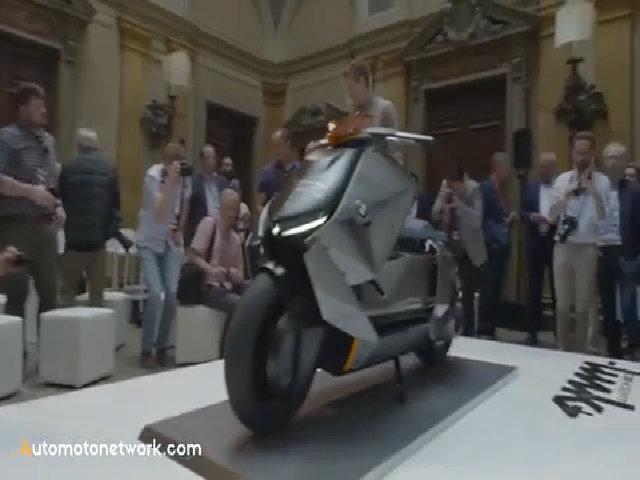 BMW concept Link - scooter hạng sang siêu hầm hố