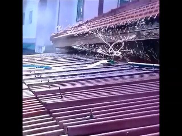 Hệ thống vòi phun làm mát mái nhà