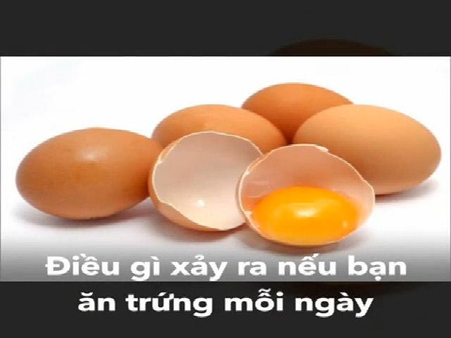 Điều gì xảy ra nếu bạn ăn trứng mỗi ngày