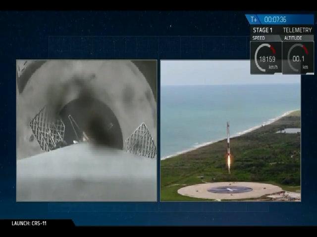 SpaceX tái sử dụng thành công tàu vũ trụ chở hàng