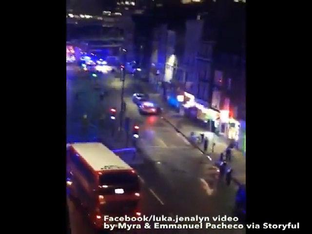 Súng nổ tại hiện trường vụ khủng bố ở London