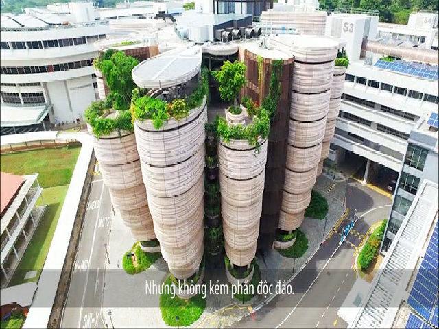 Kiến trúc đẳng cấp thế giới của đại học hàng đầu Đông Nam Á