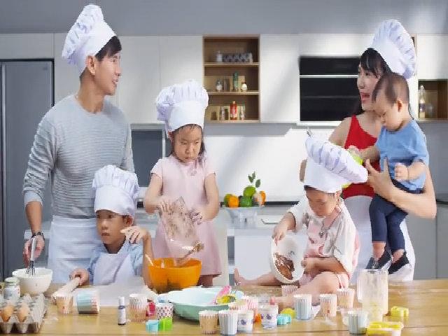 """Minh Hà: """"Tôi luôn dành thời gian để làm bạn với các con"""""""