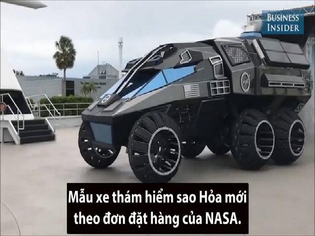 Video phụ đề xe NASA