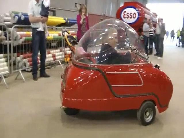 Peel Trident - ôtô nhỏ siêu tiết kiệm không số lùi