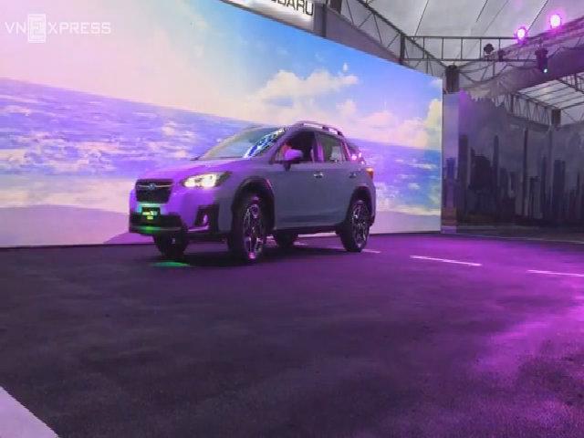 Subaru XV mới trình làng châu Á
