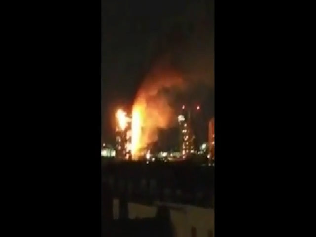 Ngọn lửa thiêu rụi chung cư ở London