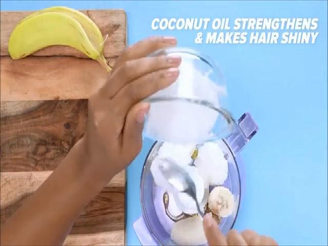 Công thức mặt nạ dầu dừa dưỡng tóc bóng khỏe
