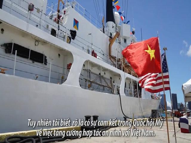 Đại sứ Mỹ: 'Chính quyền Trump cam kết tiếp tục hỗ trợ an ninh trên biển cho Việt Nam'