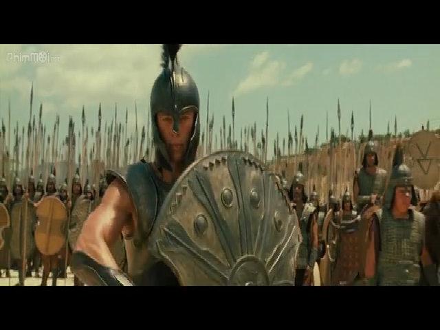 Lỗi hài hước trong phim Cuộc chiến thành Troy