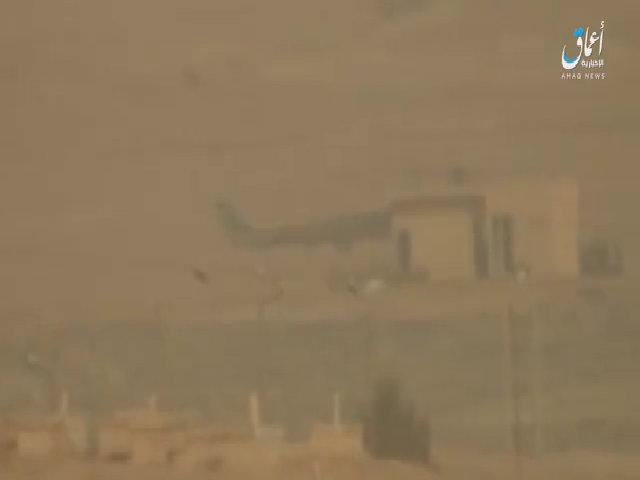 IS bắn cháy trực thăng quân sự Syria bằng tên lửa chống tăng