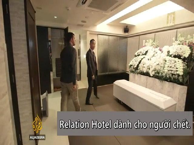 Bên trong khách sạn dành cho người chết ở Nhật Bản