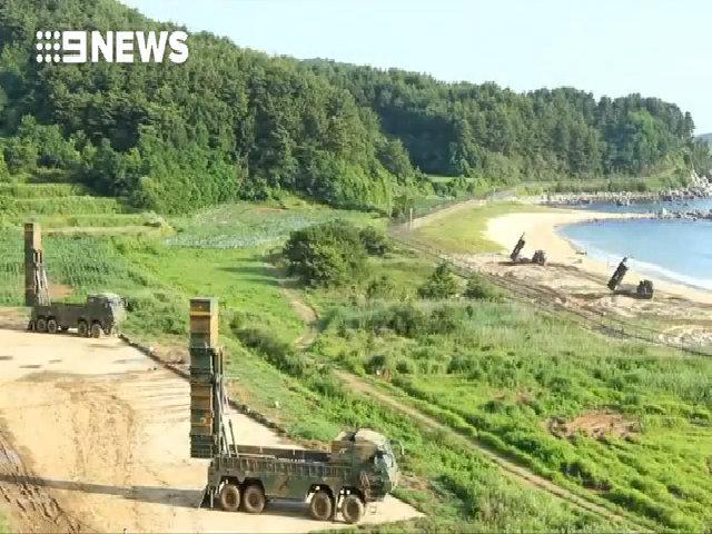 Mỹ - Hàn tập trận phóng tên lửa sau khi Triều Tiên thử ICBM