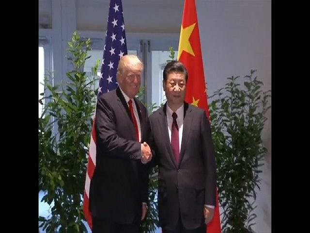 Ông Trump gặp ông Tập bên lề G20