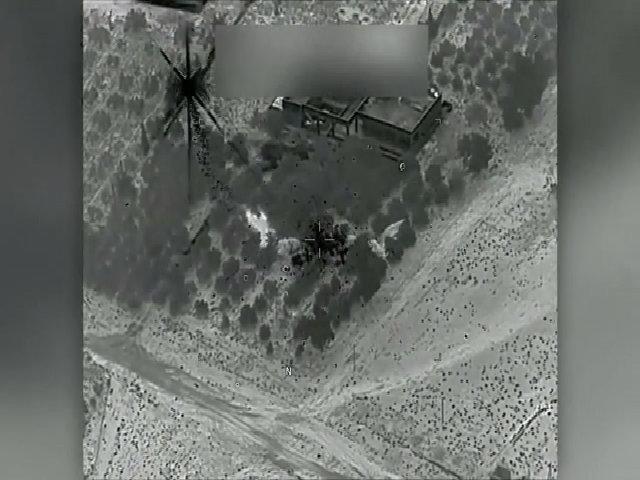 Pháo hạng nặng Mỹ nhắm trúng mục tiêu IS ở Syria