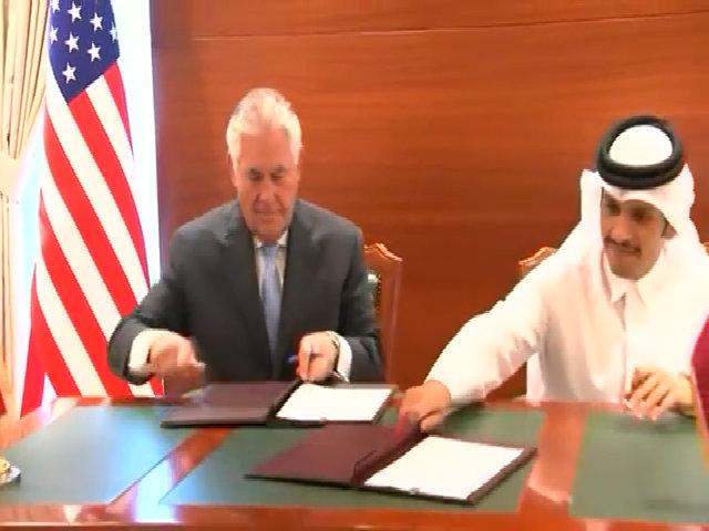 Qatar, Mỹ ký thỏa thuận chống tài trợ chủ nghĩa khủng bố