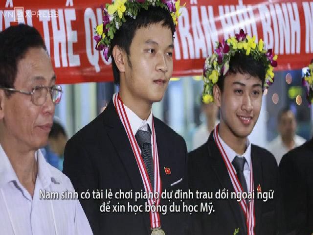 11 gương mặt giành huy chương vàng Toán, Lý, Hóa quốc tế
