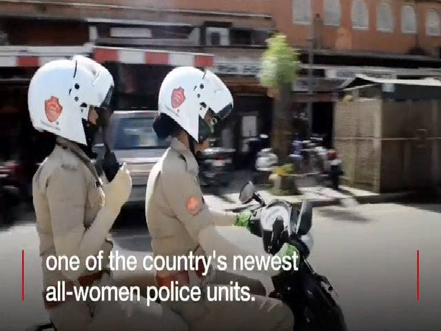 Đơn vị nữ cảnh sát khiến 'mọi đàn ông phải sợ' ở Ấn Độ