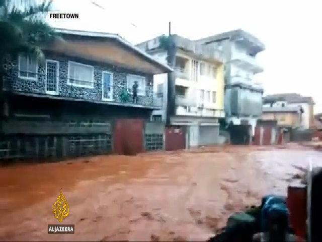 Sạt lở bùn đất ở Sierra Leone, hơn 300 người chết