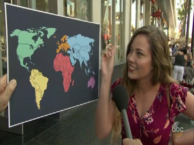 Đa số người Mỹ không biết vị trí Triều Tiên trên bản đồ